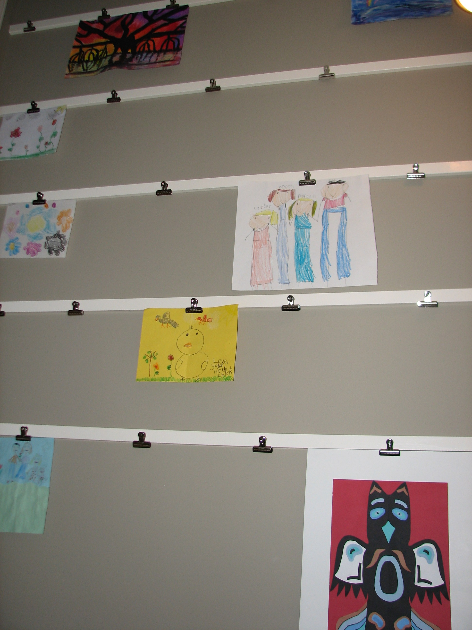 Creative confidence display and honor the power of play for Preschool wall art ideas