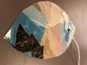 Plastic ornament