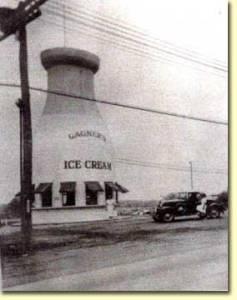 Original Milk Bottle Location Taunton