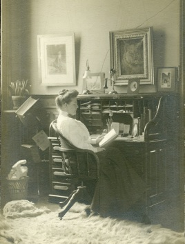 Delia Griffin at work